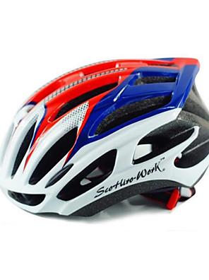 קסדה-יוניסקס-הר / כביש / ספורט-רכיבה על אופניים / רכיבה על אופני הרים / רכיבה בכביש / רכיבת פנאי / אחרים(לבן / ירוק / אדום / ורוד / שחור