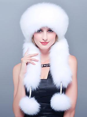 כובע סקי / כובע ציד נשים חמוד / יום יומי,דמוי פרווה חורף
