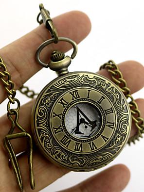 Relógio Inspirado por Assassino Conner Anime/Games Acessórios de Cosplay Colares / Mais Acessórios Dourado / Prateado Metal Unissexo