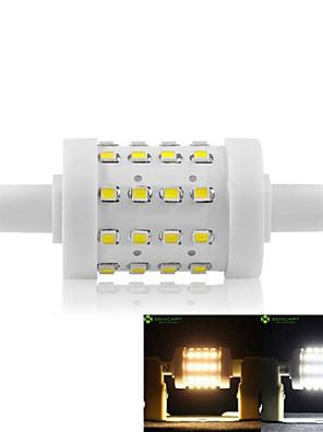 8W R7S LED-maïslampen Verzonken ombouw 36 SMD 2835 700-800 lm Warm wit / Koel wit Dimbaar AC 85-265 V 1 stuks
