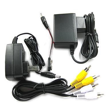 Micro Wireless Pinhole Color Camera + Video Receiver
