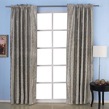 To paneler neoklassisk paisley beige grå lilla soverom polyester ...
