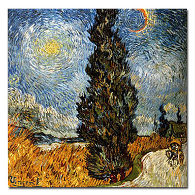 Buy Hand-painted Famous Oil Painting Stretched Frame 24 inch x Van Gogh