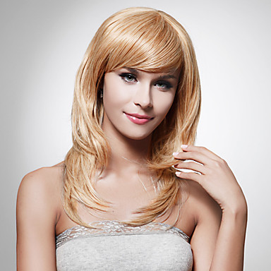 Capless Long High Quality Synthetic Staight Blonde Hair Wig