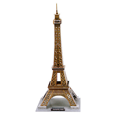 Buy Jigsaw Puzzles 3D Building Blocks DIY Toys Famous buildings 3Paper Brown Model & Toy