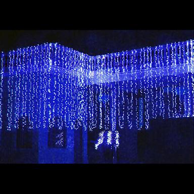 8mx3m blue led string light with 800 leds 457273 2016