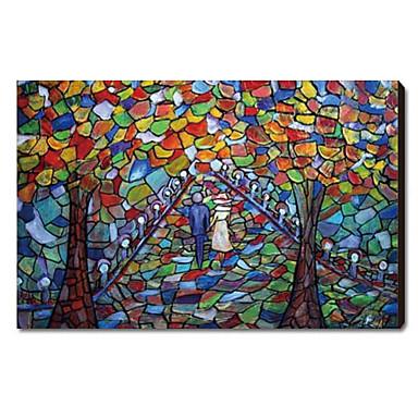 Pintado a mano paisaje pintura al aceite 1211 ls0123 - Pintura al aceite ...