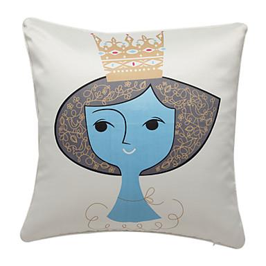 Decorative Princess Pillows : Elegant Princess Print Decorative Pillow Cover 481396 2016 ? $17.99