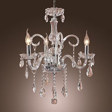 Max 40W Rustic Lodge Crystal Others Crystal Chandeliers Living Room 210250 20