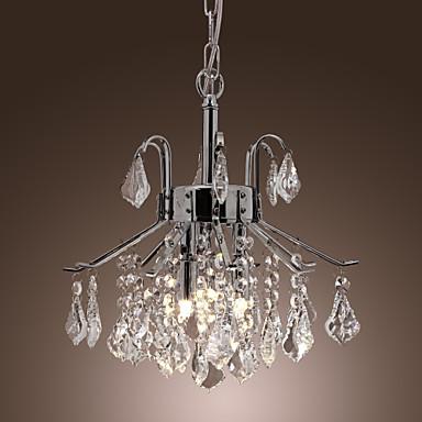 lampadari con gocce di cristallo di luce - 6 moderni del 358717 2016 a $141.99