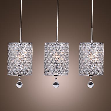 Crystal drop pendant light