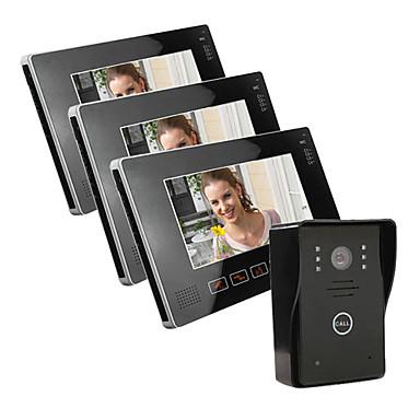 9 tft farb lcd video t rsprechanlage mit sd card bild aufzeichnen taking foto 1 kamera um 3. Black Bedroom Furniture Sets. Home Design Ideas