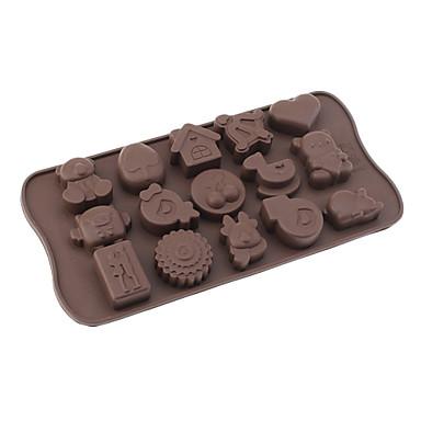 Игрушки для маленьких детей тему Силиконовая шоколада Плесень. DIY выпечки