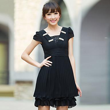 vestido plissado curto de Bruna Marquezine