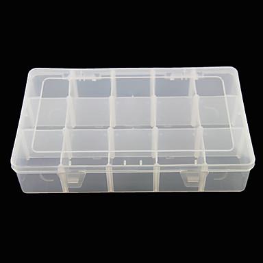 Herramienta del caso yemannvyou 3x5 caja de almacenamiento - Caja transparente plastico ...