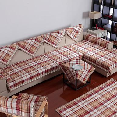 Katoen engels stijl check sofa kussen 85 210 310895 2017 - Sofa stijl voormalige ...