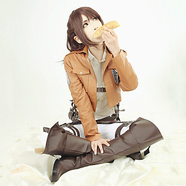 how to make attack on titan leather jacket