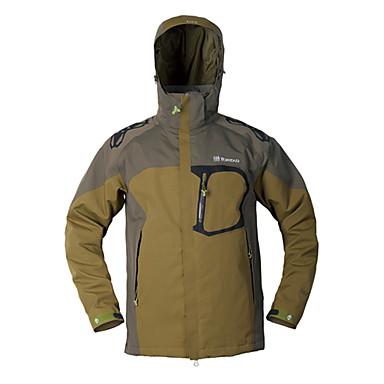 TOREAD Men's Waterproof Hiking Rain Jacket Warm Breathable 797291 ...