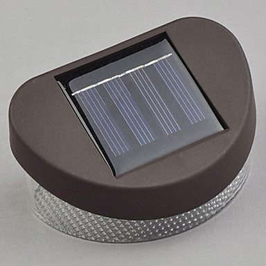 White Light LED Solar Light Path Wall Landscape Mount Garden Fence Light 994471 2016 USD 5.30