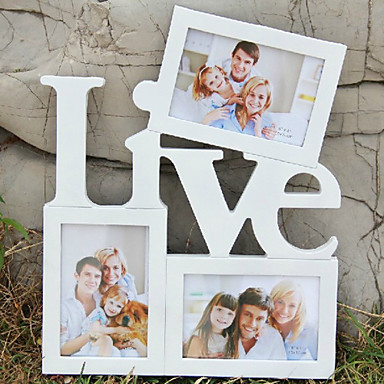 """15.25""""H Modern Style Siamesed Picture Frame"""