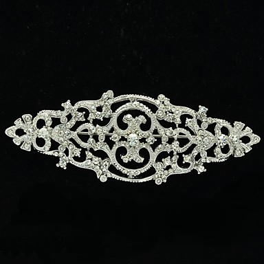 8.5cm Rhinetone Europe Imperial tyle Brooch Pin for Women Jewelry