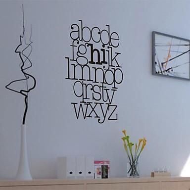 Createforlife ® Parole DIY set di alfabeto per bambini Camera dei bambini Adesivi per pareti ...