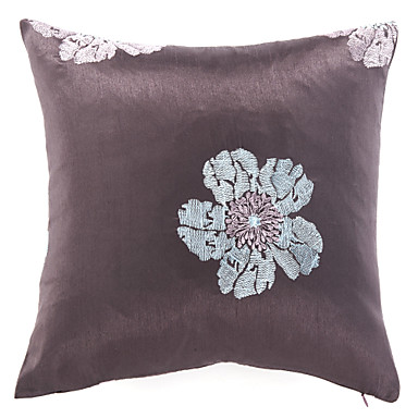 Purple Flowers Polyester Decorative Pillow Cover 1488073 2017 ? $4.99