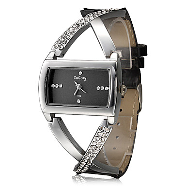 Women's Watch Fashionable Cross Style Diamante Decoration Cool Watches Unique Watches Strap Watch