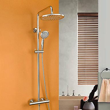 contemporain syst me de douche thermostatique douche pluie douchette inclue with valve en. Black Bedroom Furniture Sets. Home Design Ideas