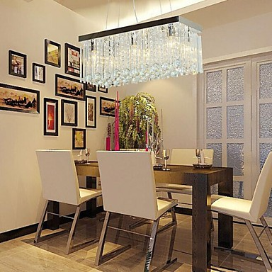 MAX40W Modern Contemporary Crystal Crystal Chandeliers