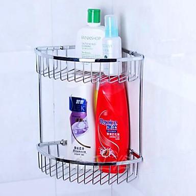 Cestas de ducha material acero cromado inoxidable 1591579 for Accesorios para el bano en acero inoxidable