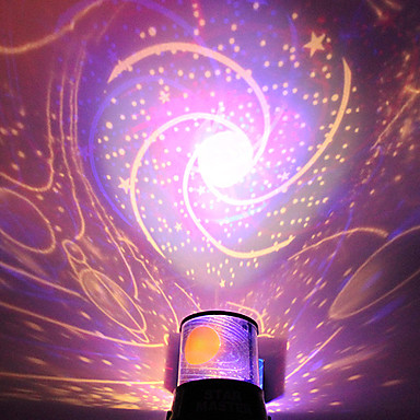 diy romantic galaxy starry sky projector night light for. Black Bedroom Furniture Sets. Home Design Ideas