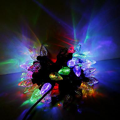 5m 50 leds navidad de halloween luces decorativas tira - Tiras led navidad ...