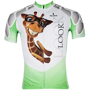 Buy PaladinSport Men's Cycling Jersey Short Sleeves Spring & Summer 100% Polyester Sleeved