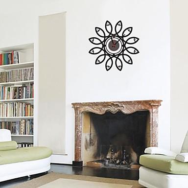 zooyoo® elektronski baterija mjeritelj DIY oblik cvijeta zidni sat zidni nalj...