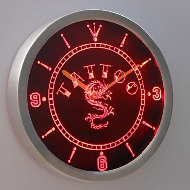 nc0357 chinesischen drachen tattoo tinte bier leuchtreklame led wand uhr 1983929 2017. Black Bedroom Furniture Sets. Home Design Ideas