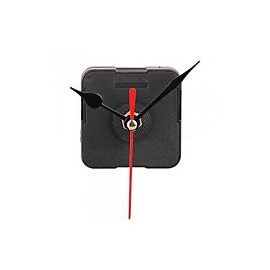 Buy Clock Movement Mechanism Black Hour Minute Red Second Hand DIY Tools Kit