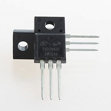 Buy FQPF2N60C 2N60C MOSFET N-CH 600V 2A TO-220(5PCS)