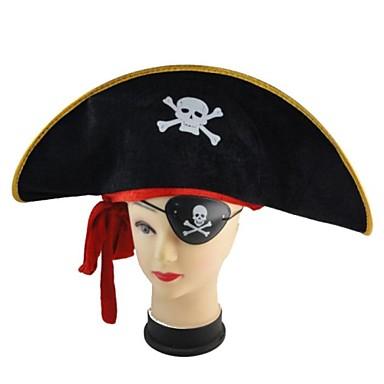 Molde para sombrero de pirata