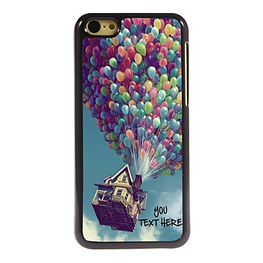 Buy Personalized Phone Case - Balloon Design Metal iPhone 5C