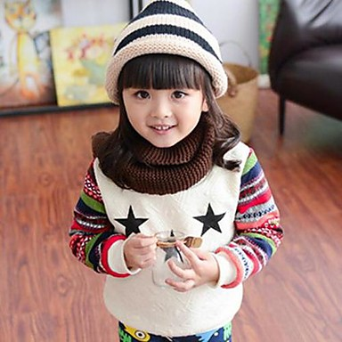 Girl's Galaxy Hoodie & Sweatshirt,Cotton Blend Winter / Fall White / Gray