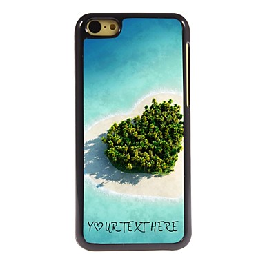 Buy Personalized Phone Case - Heart Sea Design Metal iPhone 5C