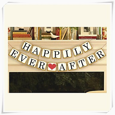 wedding d cor happily ever after popular vintage banner
