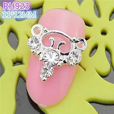 10st rh923 speciale ontwerp luxe strass 3d legering nail art diy nagel schoonheid nagel - Decoratie murale ontwerp salon ...