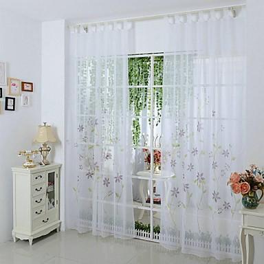 Nye sheer vindue gardin stue soveværelse mode boligmontering ...