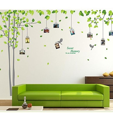 Buy Wall Stickers Decals, Tree Photo Sticker PVC