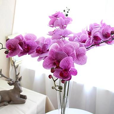 6pcs hermosas verdadero toque mariposa pvc boda artificial for Ideas decorativas para el hogar