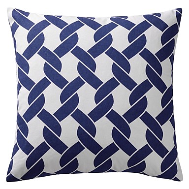 Buy Modern Geometric Cotton Decorative Pillow Cover