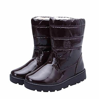botas de nieve de madera