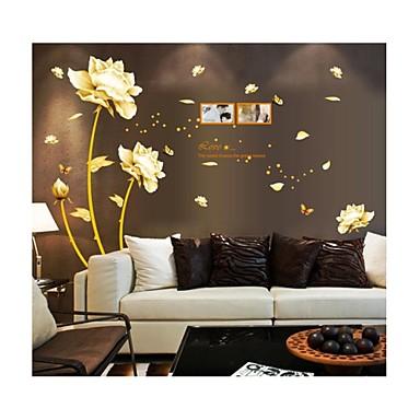 Pared calcoman as pegatinas de pared flores de estilo - Calcomanias para paredes ...